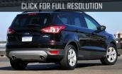 2016 Ford Escape black #2