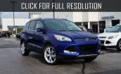 2016 Ford Escape blue #1