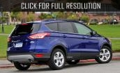 2016 Ford Escape blue #3
