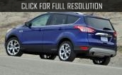 2016 Ford Escape blue #4