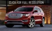 2016 GMC Arcadia - new size, redesign, premiere