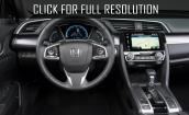 2016 Honda Civic Sedan interior #1