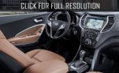 2016 Hyundai Santa Fe interior #1