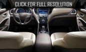 2016 Hyundai Santa Fe interior #2