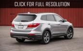 2016 Hyundai Santa Fe limited #2