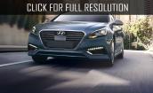 2016 Hyundai Sonata Hybrid limited #3