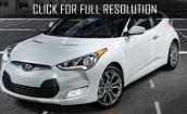 2016 Hyundai Veloster white #1
