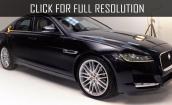 2016 Jaguar Xf black #1