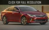 2016 Kia Optima sx #2