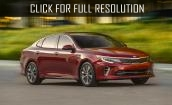 2016 Kia Optima sx #3