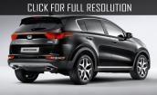 2016 Kia Sportage black #2