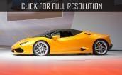 2016 Lamborghini Huracan Lp610 4 spyder #2