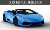 2016 Lamborghini Huracan roadster #1