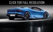 2016 Lamborghini Huracan spyder #3