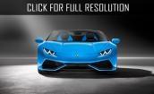 2016 Lamborghini Huracan spyder #4