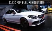2016 Mercedes Amg C63 s #1