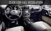2016 Mercedes Benz G Class interior #1