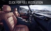 2016 Mercedes Benz G Class interior #3