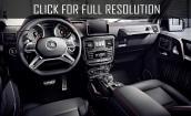2016 Mercedes Benz G Class interior #4
