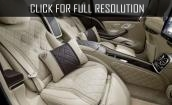 2016 Mercedes Maybach S600 interior #1