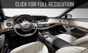 2016 Mercedes Maybach S600 interior #2