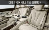 2016 Mercedes Maybach S600 interior #3
