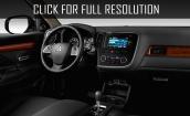 2016 Mitsubishi Outlander interior #3