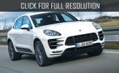 2016 Porsche Macan white #1