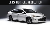 2016 Toyota Avalon - changes, photos, interior, engine, video