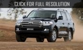 2016 Toyota Land Cruiser 200 #1