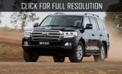 2016 Toyota Land Cruiser 200 #1