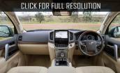 2016 Toyota Land Cruiser 200 #3