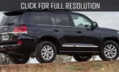 2016 Toyota Land Cruiser 200 #4
