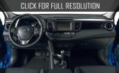 2016 Toyota Rav4 interior #1