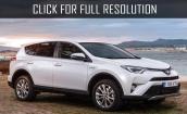 2016 Toyota Rav4 white #4