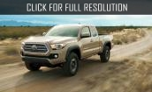 2016 Toyota Tacoma - new engine, bright appearance, video