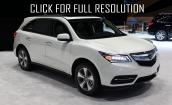 2017 Acura MDX - update, interior, specs, equipment
