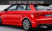 2017 Audi A3 red #1