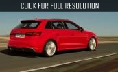 2017 Audi A3 red #3