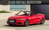 2017 Audi A3 red #4