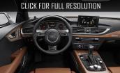 2017 Audi A7 interior #1
