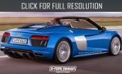 2017 Audi R8 spyder #2