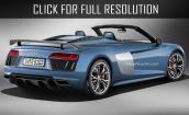 2017 Audi R8 spyder #3