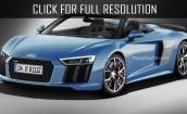 2017 Audi R8 spyder #4