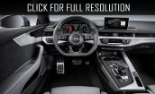 2017 Audi S5 interior #4