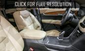 2017 Cadillac Xt5 interior #3