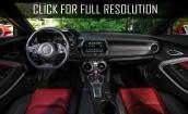 2017 Chevrolet Camaro Ss interior #4