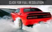 2017 Dodge Challenger hellcat #4