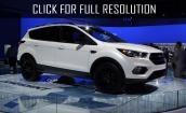 2017 Ford Escape sport #2