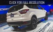 2017 Ford Escape sport #4